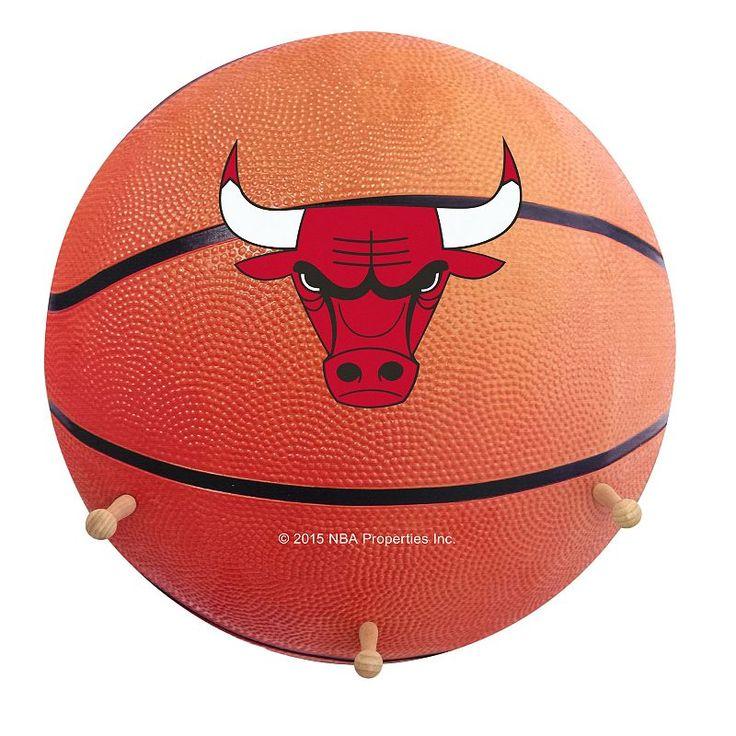 Chicago Bulls Basketball Coat Hanger, Multicolor