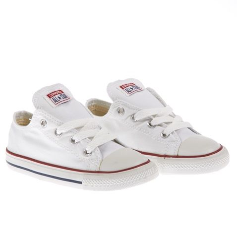 Βρεφικά παπούτσια Chuck Taylor λευκά - CONVERSE (1191817) | Factory Outlet