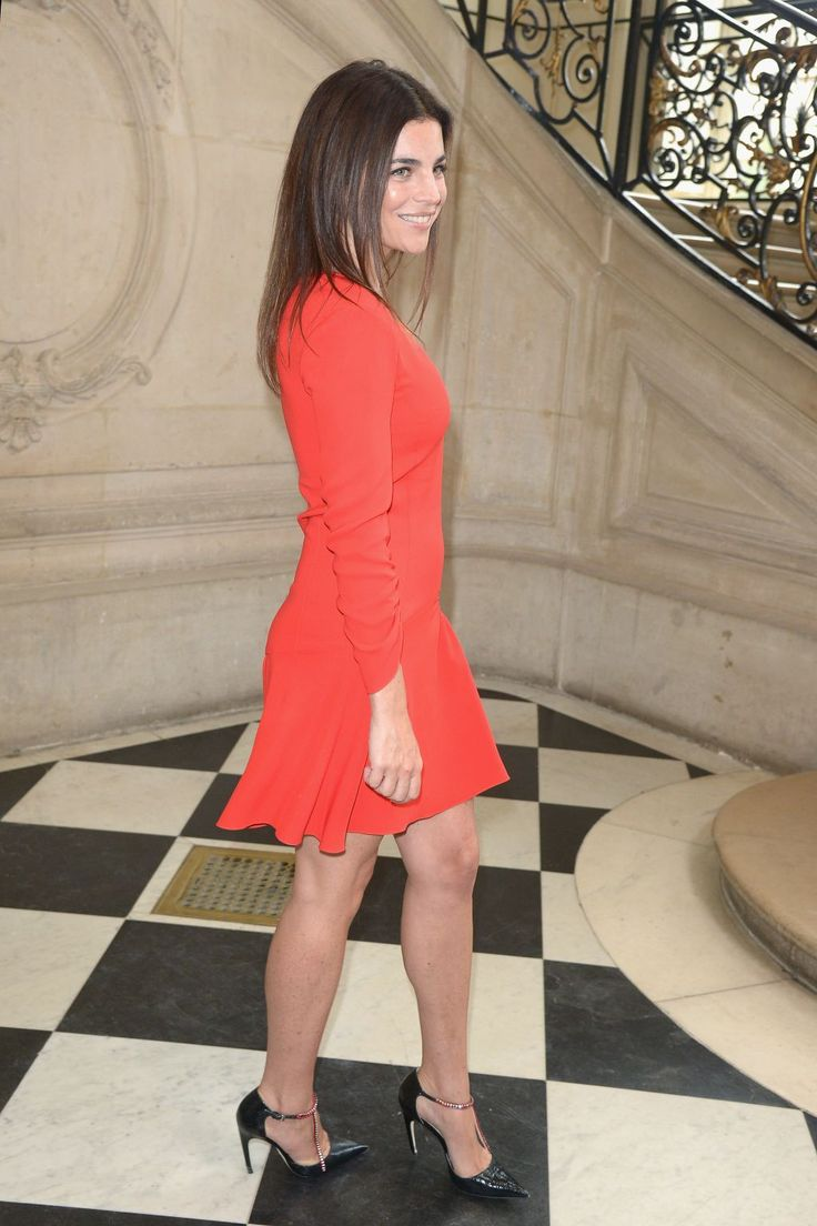 Julia Restoin Roitfeld at Paris Fashion Week. Photo: Dominique Charriau/WireImage