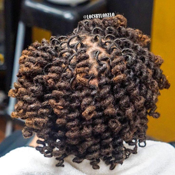 "1,354 Likes, 11 Comments - thekingoflocs! (@locsbylokelo) on Instagram: """"Birthday curls READY! "" products: @lonaturals .....shes S N A T C H E D • • ✨ ATLANTA ✨…"" #locs #natural #dreadlocks"