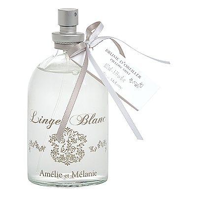 Perfume de ambiente en spray Linge Blanc.