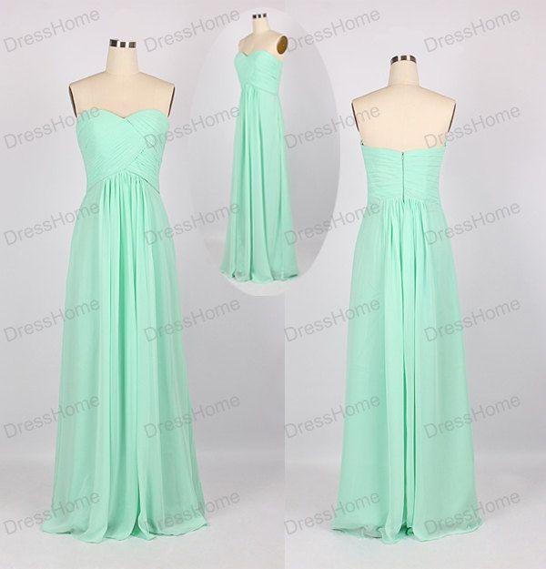 Long Bridesmaid Dress - Beach Bridesmaid Dress / Blue Bridesmaid Dress / Simple Bridesmaid Dress / Blue Prom Dress / Long Prom Dress DH157 by DressHome on Etsy https://www.etsy.com/listing/205722969/long-bridesmaid-dress-beach-bridesmaid