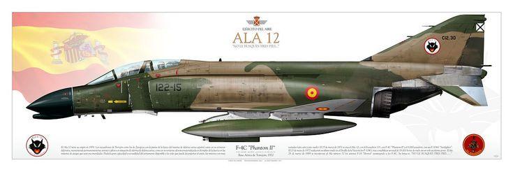 SPANISH AIR FORCE . EJÉRCITO DEL AIREAla de Caza 12, Escuadron 121Base Aérea de Torrejón, 1972