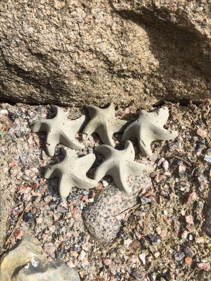 #Concrete starfish