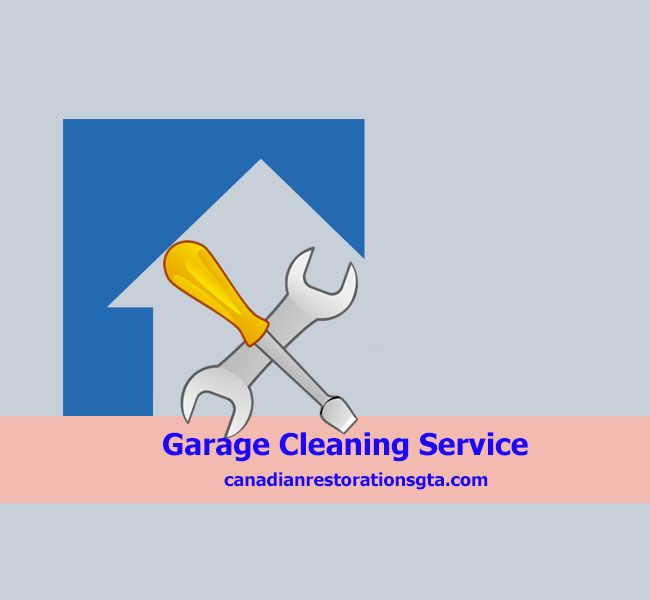 Garage Cleaning Service - Canadian Restorations GTA Inc