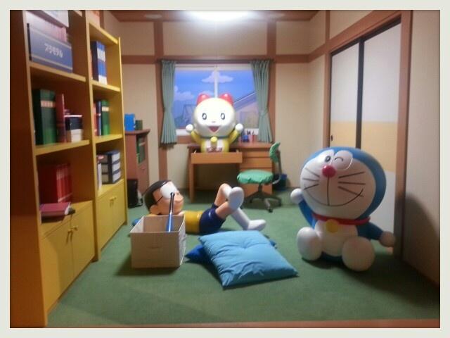 Nobita's room