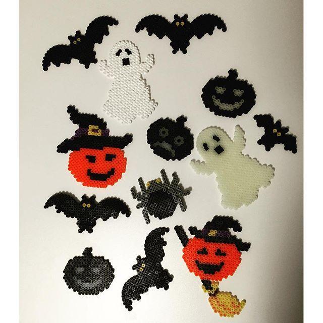 Halloween hama beads by  mammasmurfen
