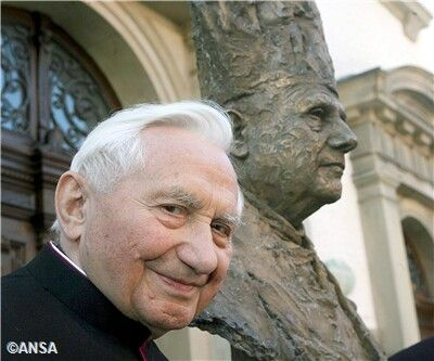 Retired Pope Benidict,George Ratzinger, is 90 yrs old today,1-15-14! Happy Birthday!