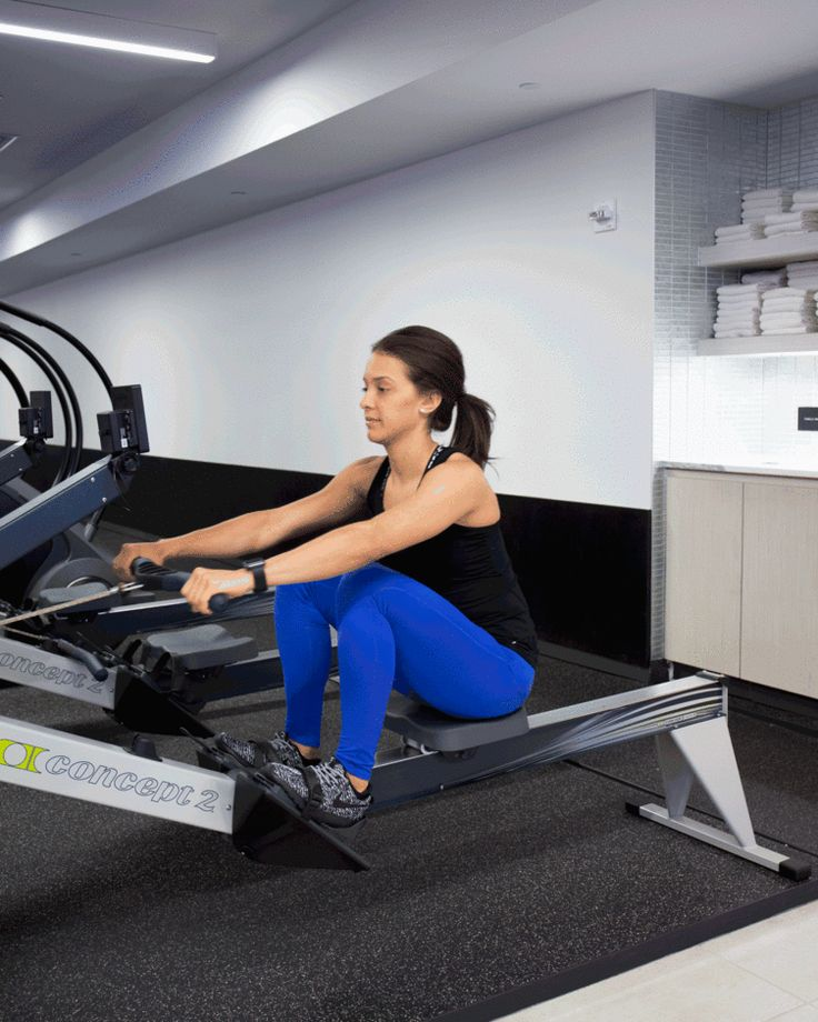 Greatist's take on the only 7 machines worth using at the gym. Of course the rowing machine is there!