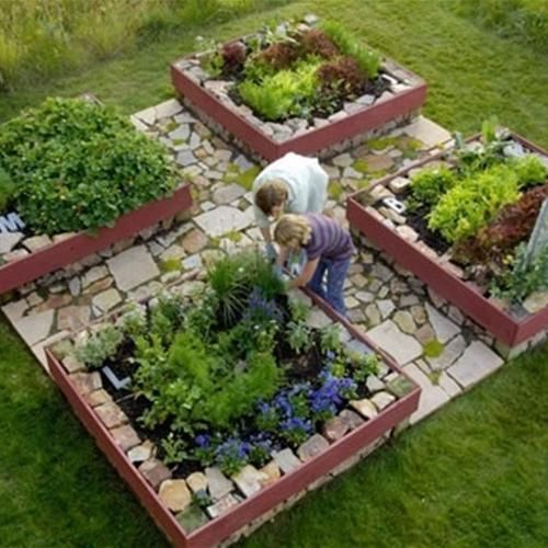 creating the unique design for the garden that is selecting the raised garden bed design ideas choosing this idea will create the useful of your garden