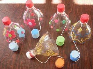 Juegos con material reciclado