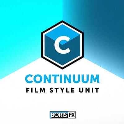 Boris FX Continuum Film Style Unit