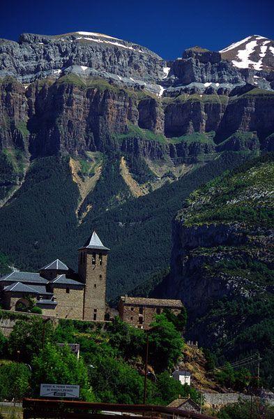 Torla, Parque Nacional de Ordesa y Monte Perdido (Huesca, Aragón, Spain)