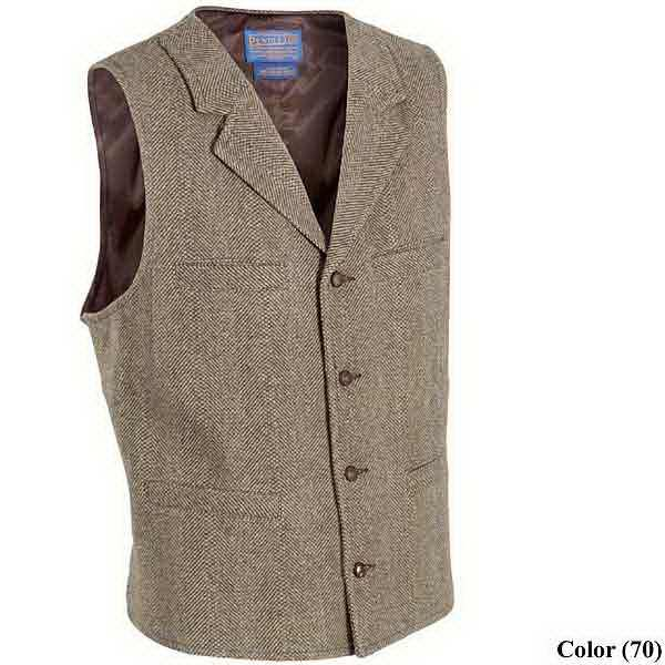 Butchmen and butch bride options for vests.