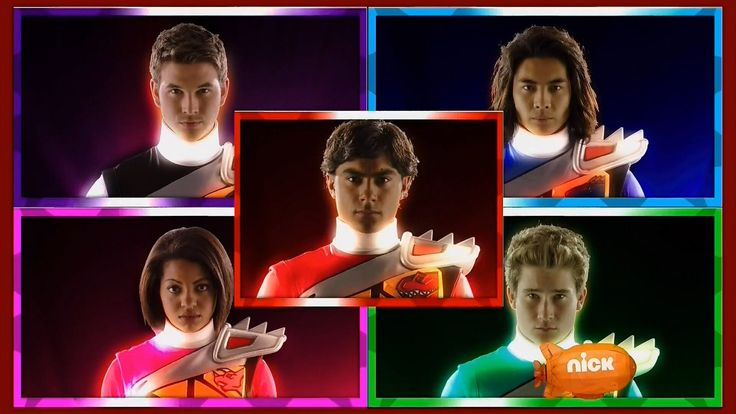 Power Rangers - Rangers Morphs (Mighty Morphin Power Rangers - Dino Charge)