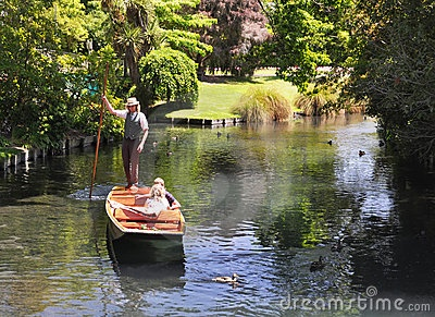 Punting On The Avon, Christchurch
