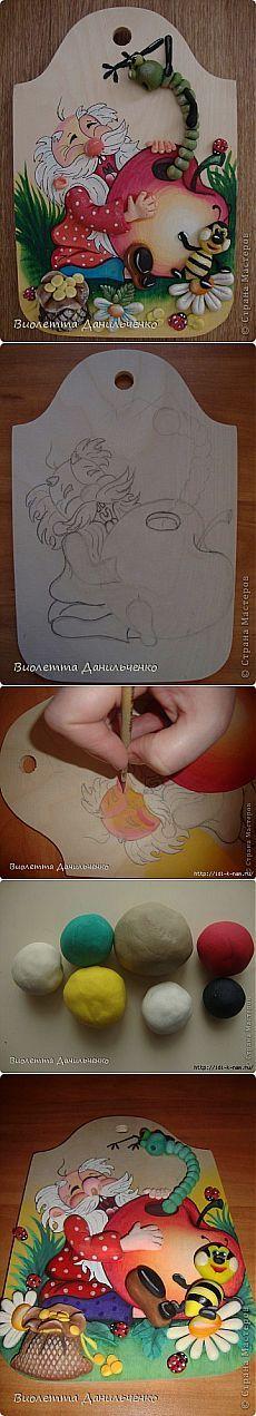 (+1) тема - кухонные дощечки | Очумелые ручки