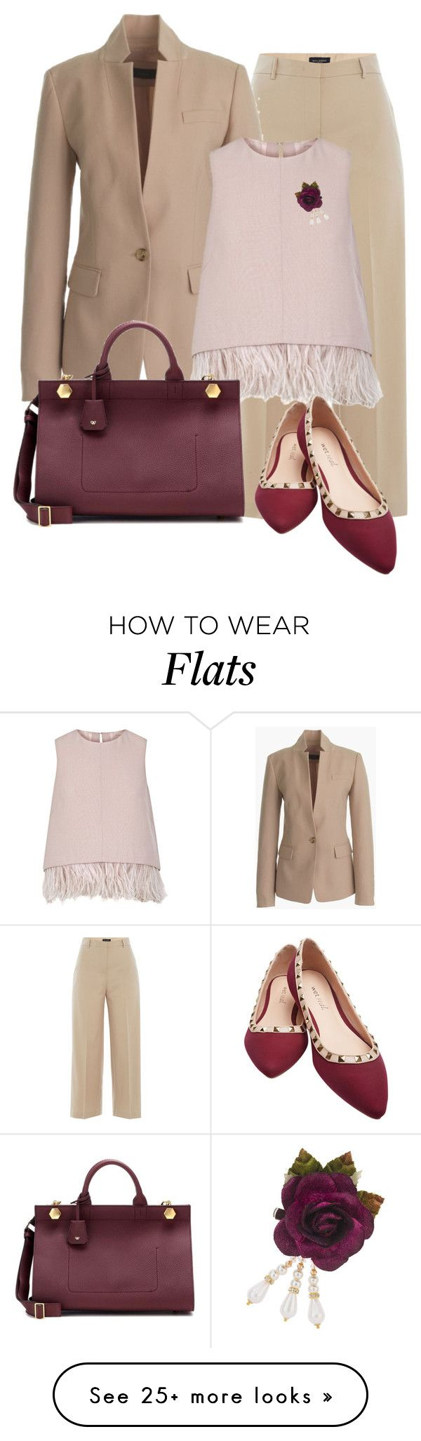 """""""Untitled #1118"""" by mrs-rc on Polyvore featuring Piazza Sempione, J.Crew, The 2nd Skin Co., Anya Hindmarch, Wet Seal, Topshop, women's clothing, women's fashion, women and female"""