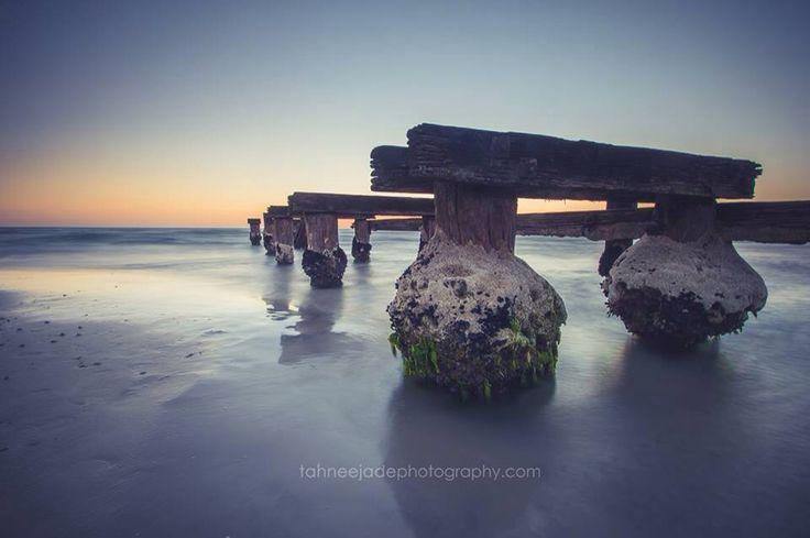 Seascape photography of Mentone Pier, Australia