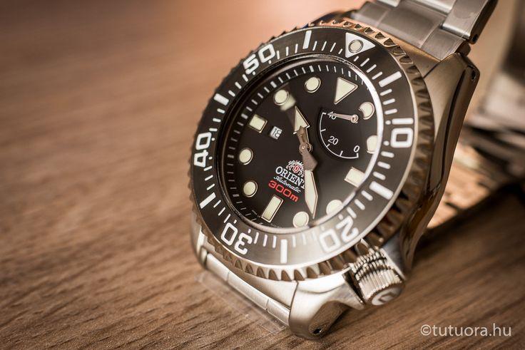 ORIENT Pro Saturation Diver EL02002B  óra ötödik nézet