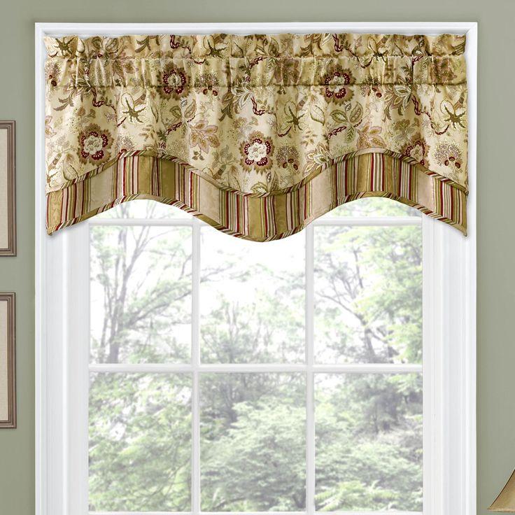 lavish valance patterns for window decorating idea scarf valance pattern