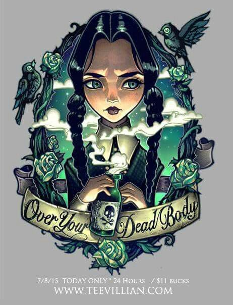 Over Your Dead Body: Because Wednesday is a badass