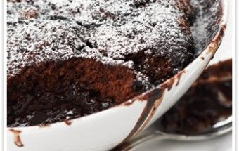 """""""Can you think of a better dessert on a cold night?"""" - Your Inspiration at Home Choc Orange Self Saucing Pudding"""