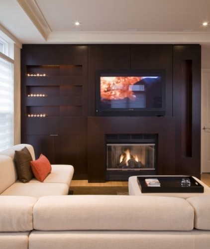 Living Room With Tv: 25+ Best Ideas About Modern Tv Room On Pinterest