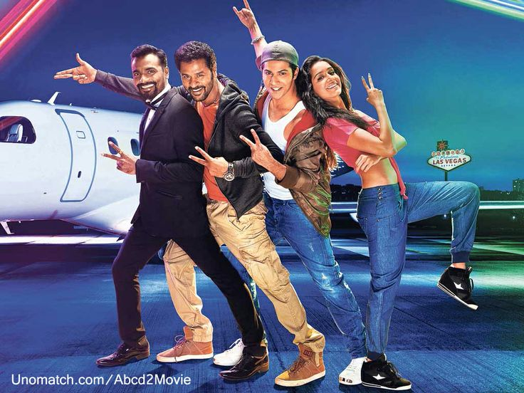 Officials of ABCD again come with its sequel and the first look of Any Body Can Dance 2 is out starring Varun Dhawan and Shraddha Kapoor in lead roles with Prabhu Deva and this will the first time that the duo will share the silver screen. The film again will be directed by Remo D'Souza and here is full wiki of ABCD2 film.
