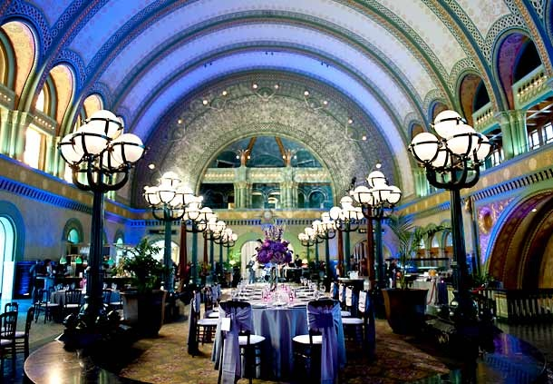 Grand Hall in the Marriott -- Union Station in STL. Woah, I may have to reconsider my venue.