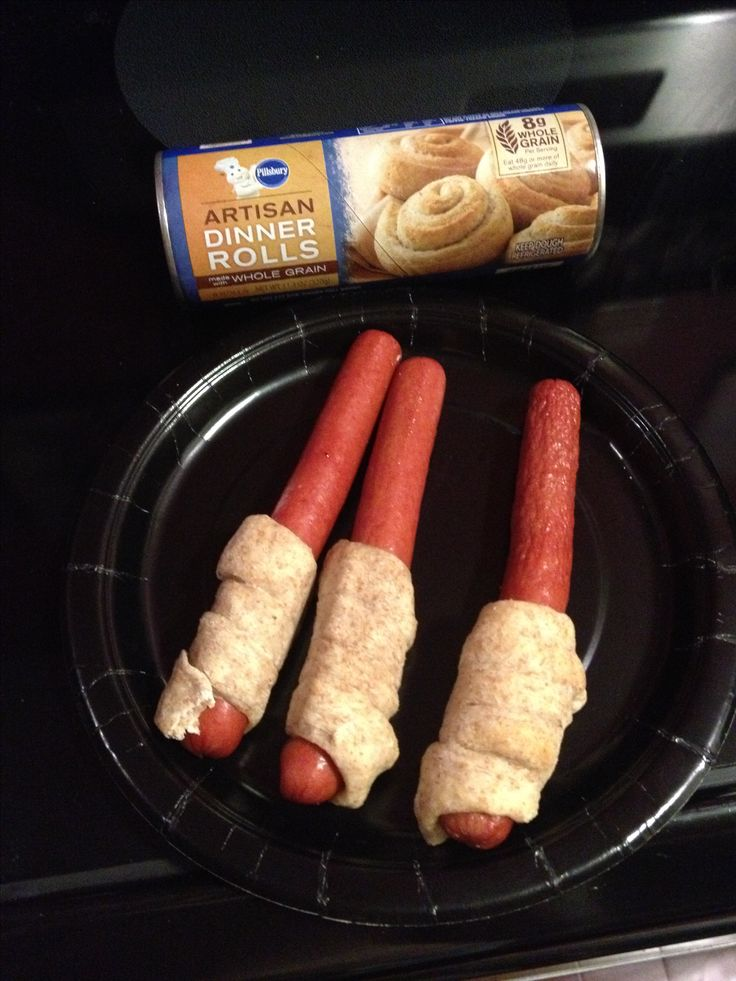 """""""Light saber dogs"""" for a Star Wars party"""