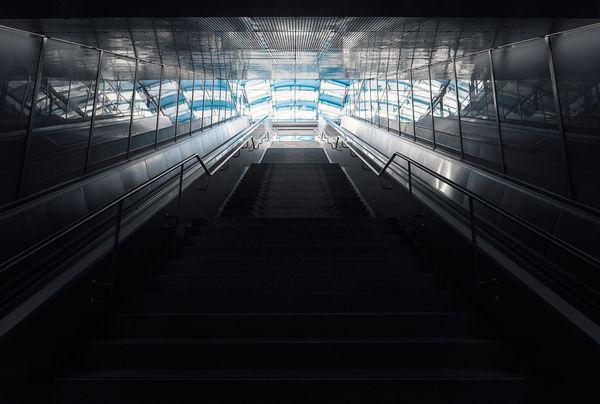 Subway by Nick Frank, via Behance