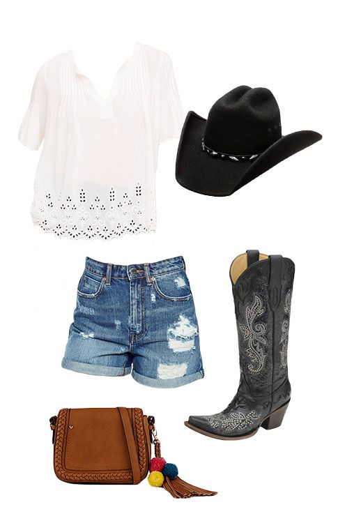 5 Cute Calgary Stampede Outfits Picked by a Hometown Girl - Flare Love this look, but know it's just a fantasy wardrobe now.