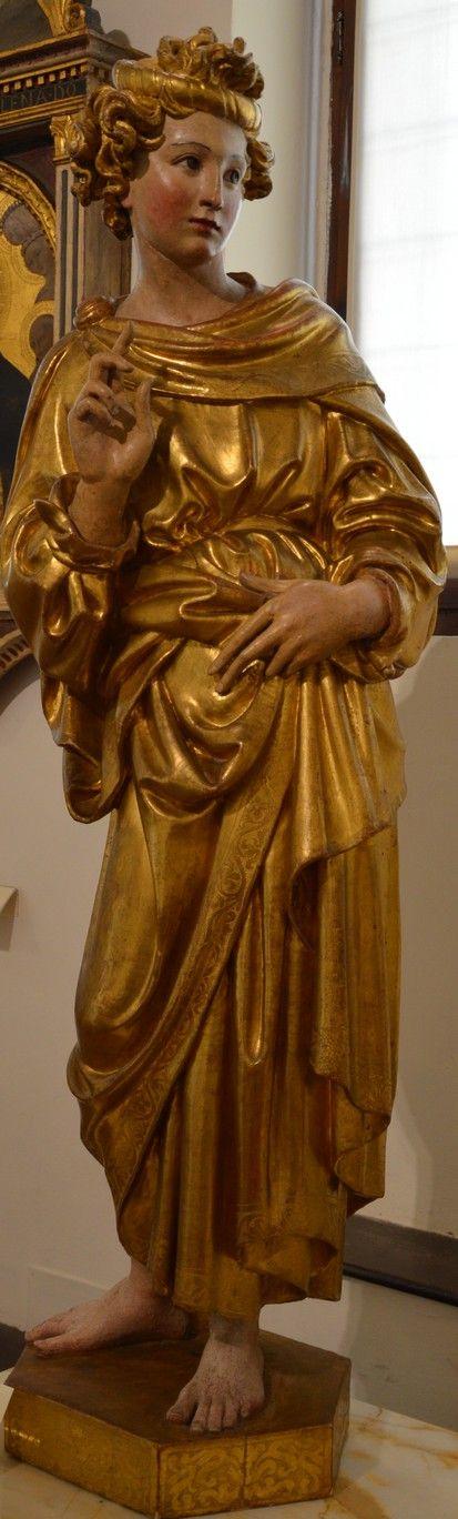 Siena Jacopo della Quercia Angel (my photo)