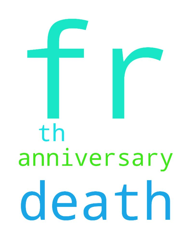 Fr the 18 th death anniversary fr my - Fr the 18 th death anniversary fr my father  Posted at: https://prayerrequest.com/t/tDV #pray #prayer #request #prayerrequest