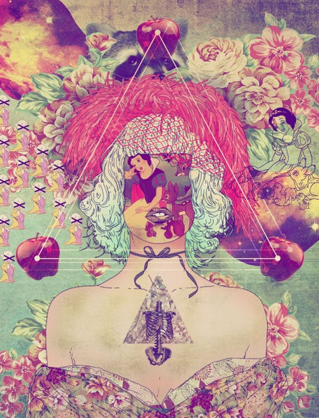 'white snow' by fab-ciraolo on artflakes.com as poster or art print $16.63