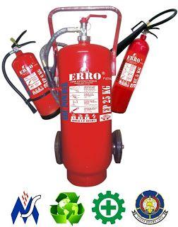 Jual alat pemadam kebakaran | tabung pemadam api (apar) merek Erro Fire dengan kualitas terbaik harga murah, dengan isi menggunakan media terbaik