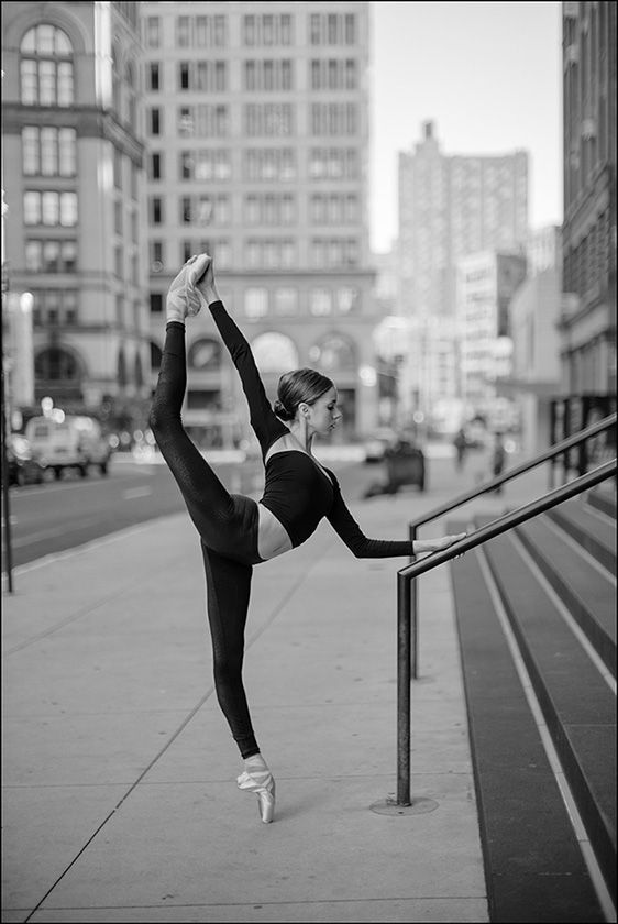 Katie - Astor Place, New York City Bodysuit by Wolford wolfordfashion Follow the Ballerina Project on Facebook, Instagram, YouTube & Pinterest For information on purchasing Ballerina Project limited...