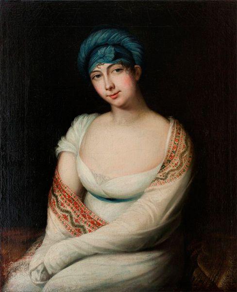 1806 Janos Rombauer Portrait Of Maria Lubomirska