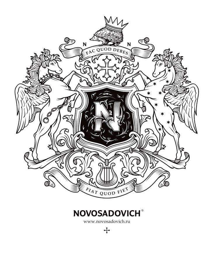 Novosadovich logo by Province Design