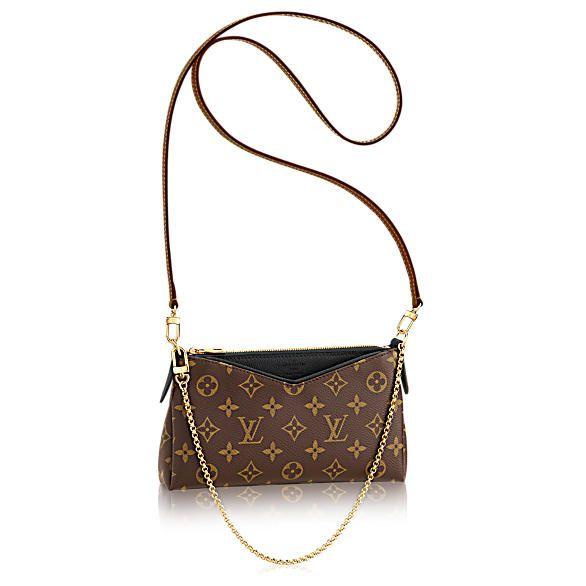 Pallas Clutch - Monogram Canvas - Handbags   LOUIS VUITTON