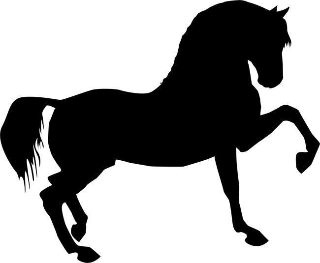 Prancing Horse Stencil by Crafty Stencils