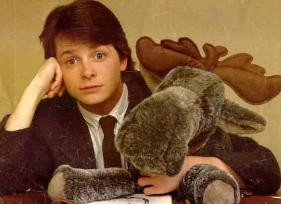 michael j fox young - love this guy! amazing actor(: