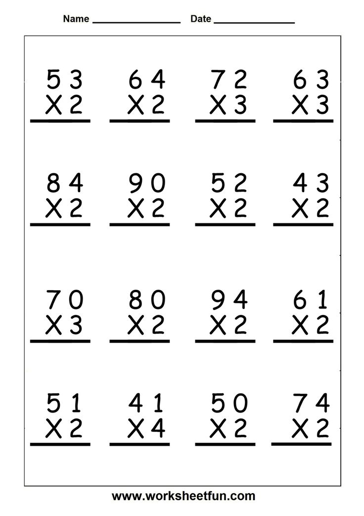 Free fun multiplication worksheets grade 4