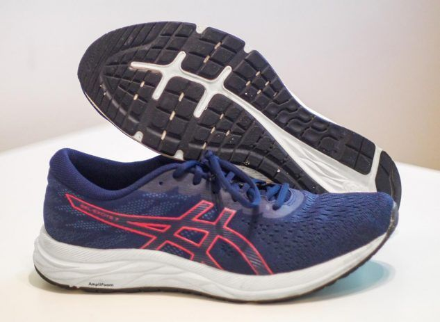 The Asics GEL-Excite 7 follows in the