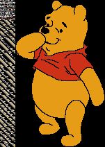 animated gif pooh winnie the pooh blowing a kiss photo. Black Bedroom Furniture Sets. Home Design Ideas