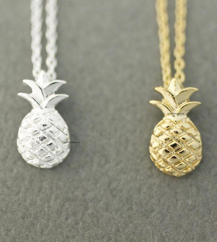 Cute Pineapple pendant necklace