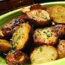 Roasted New Red Potatoes - It is an excellent, easy and quick side dish for any meat