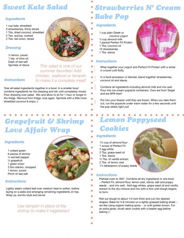 Great snack and lunch ideas that are Tone It Up Approved!
