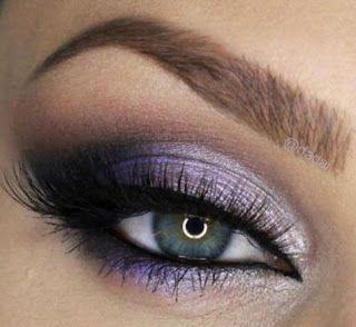 Maquillaje para fiesta en tonos violeta paso a paso ~ Belleza y Peinados